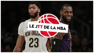 Transfert : Anthony Davis rejoint LeBron aux Lakers ! (JTT)