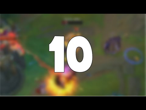 This is 10 Minutes of League of Legends Fails... | Vol.1