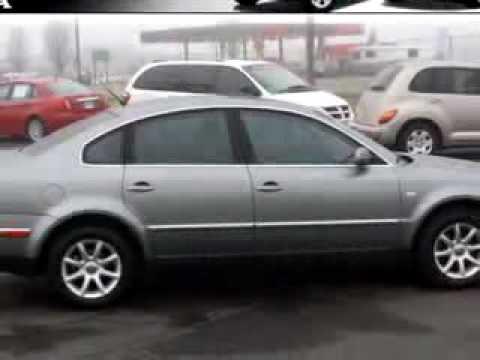 2004 Volkswagen Passat GLS 1.8 Capitol Honda New & Used