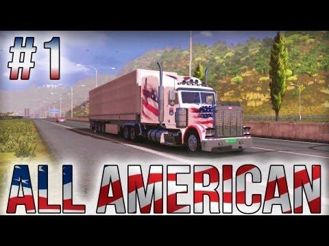All American - Part #1 - Euro Truck Simulator 2 (Research Profile)