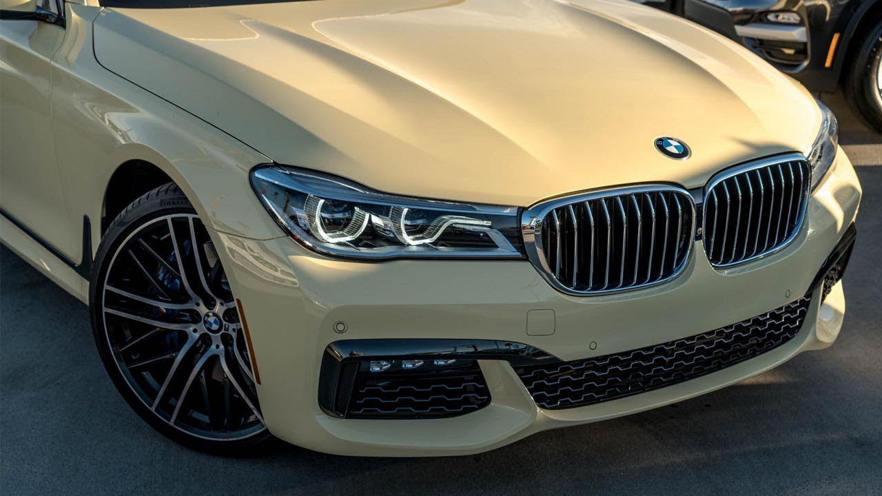 this bmw individual 750i m pack in ivory looks like a german taxi