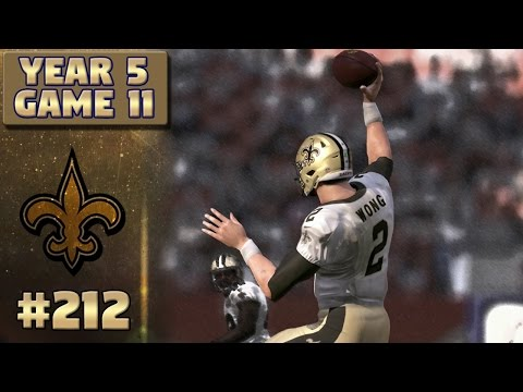 Saints @ Broncos (S5,G11) | Madden NFL 17 New Orleans Saints Franchise Ep. 212