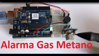 Alarma de Gas Metano (MQ4)