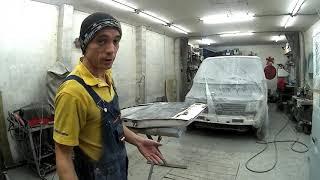 Mercedes Vito#Ремонт водительской двери(печальная дверь)#Часть10