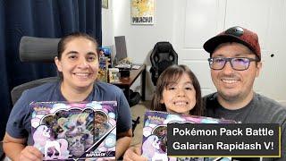 Pokémon Galarian Rapidash V Booster Pack Battle
