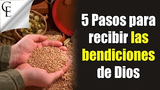ASI OBTENDRÁS LAS BENDICIONES DE DIOS