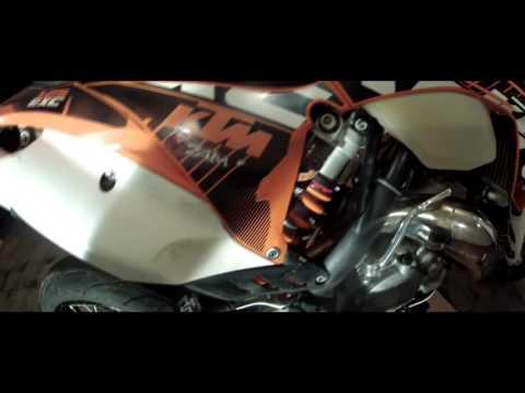How to: Easy rear hand brake for KTM (Husqvarna, Husaberg)