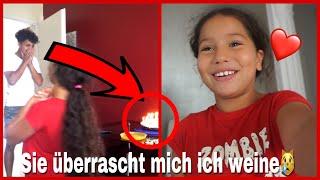 KLEINE SCHWESTER ÜBERRASCHT MICH AN MEINEM GEBURTSTAG😍(Ich weine..)
