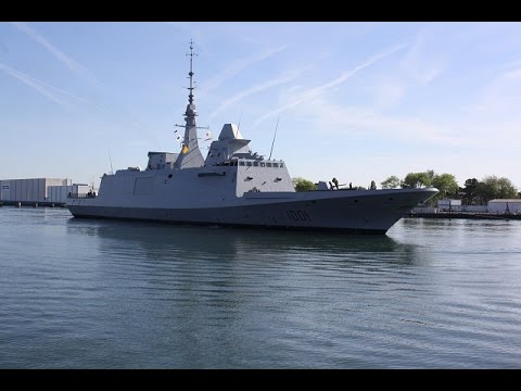 DCNS FREMM Frigate Tahya Misr تحيا مصر (ex-Normandie) Delivered to Egypt