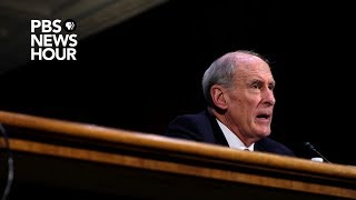 Director of National Intelligence Dan Coats speaks at the Aspen Security Forum