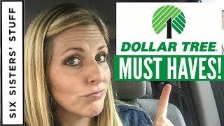 Dollar Tree Must Haves! 30 Things To Stock Up On Every Time You Shop At Dollar Tree!