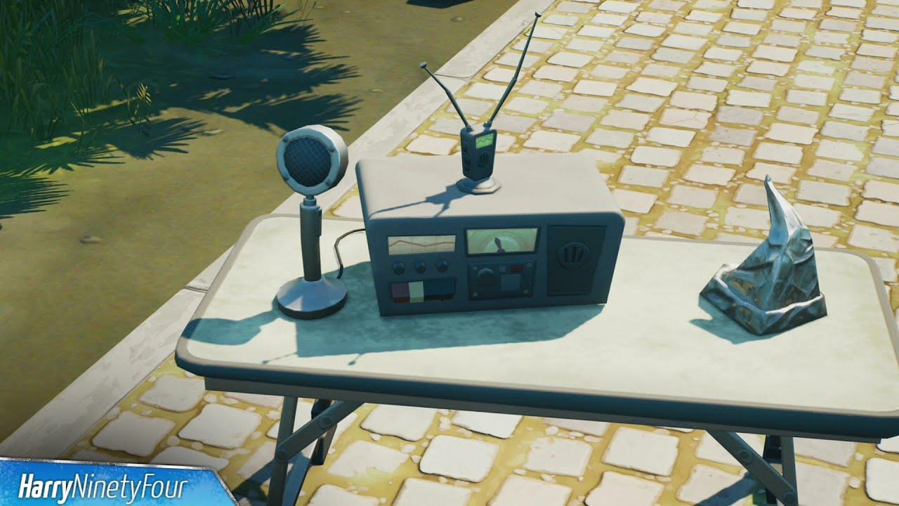 Download Interact with a CB Radio Location - Fortnite