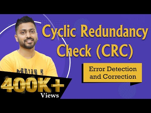 Cyclic Redundancy Check(CRC)  for Error Detection and Correction  | Computer Networks
