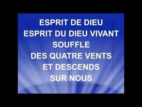ESPRIT DE DIEU - Samuel Olivier - Collectif Cieux Ouverts