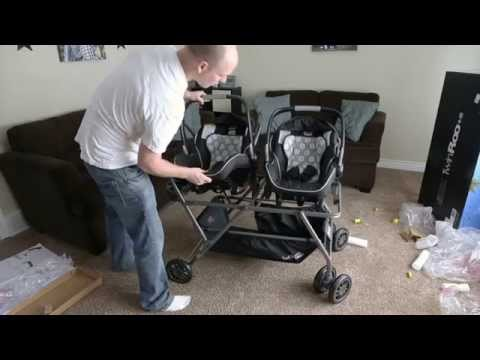 Twin Source How It Works The Snap Amp Go Double Stroller