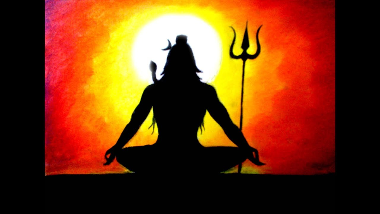 How to draw shiva step by step easy techniques lord shiva drawing
