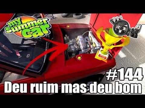My Summer Car - PARECE QUE O MOTOR NÃO AGUENTOU O RALLY 😐 #144 ‹ Getaway Driver ›