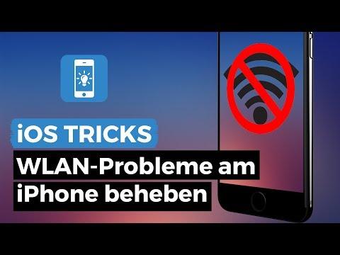 Wlan Probleme am iPhone beheben