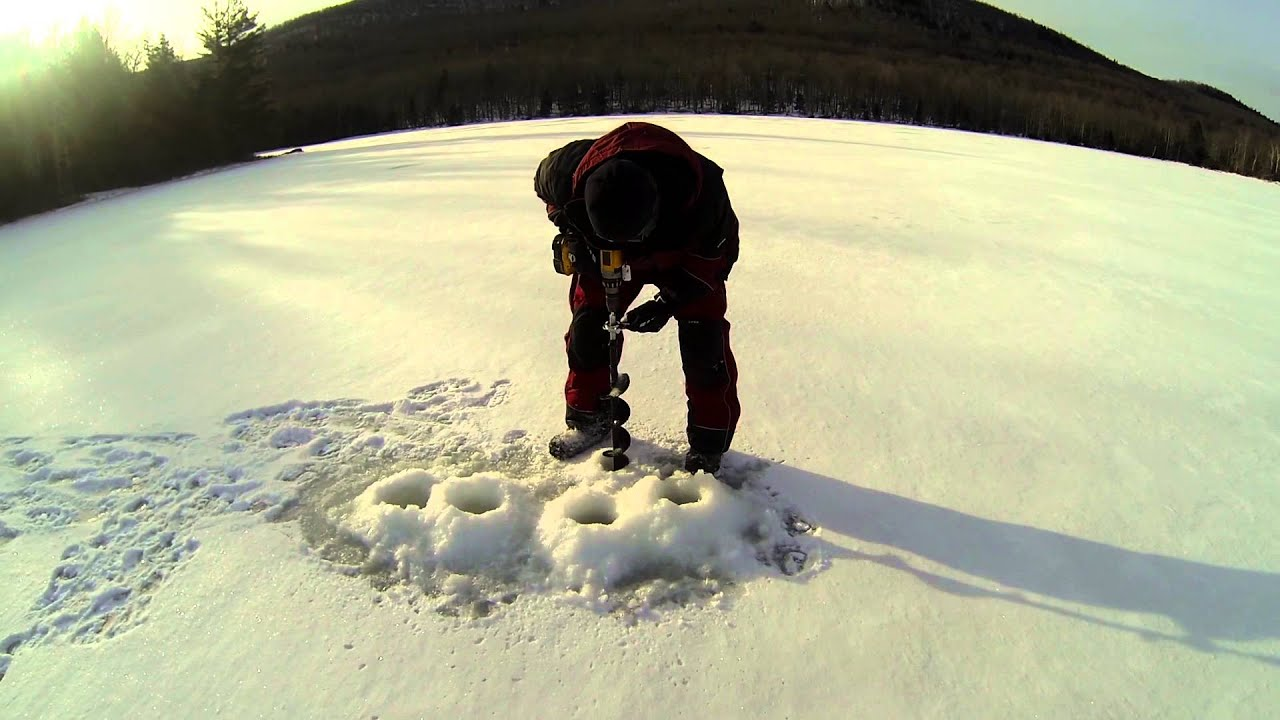 Do Cordless Drill Ice Augers Really Work? - Watersports Magazine