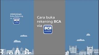 Tutorial Buka Rekening Via Bca Mobile