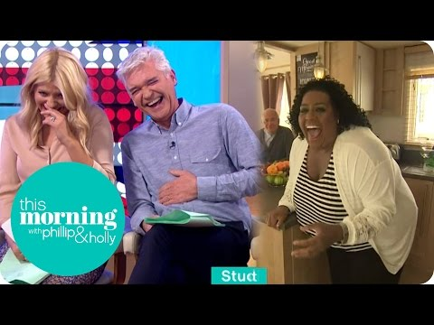 Alison Hammond Gets Stuck On A Door! | This Morning