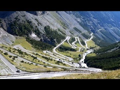 STELVIO pass (2760m), passo di PORDOI (2239m)