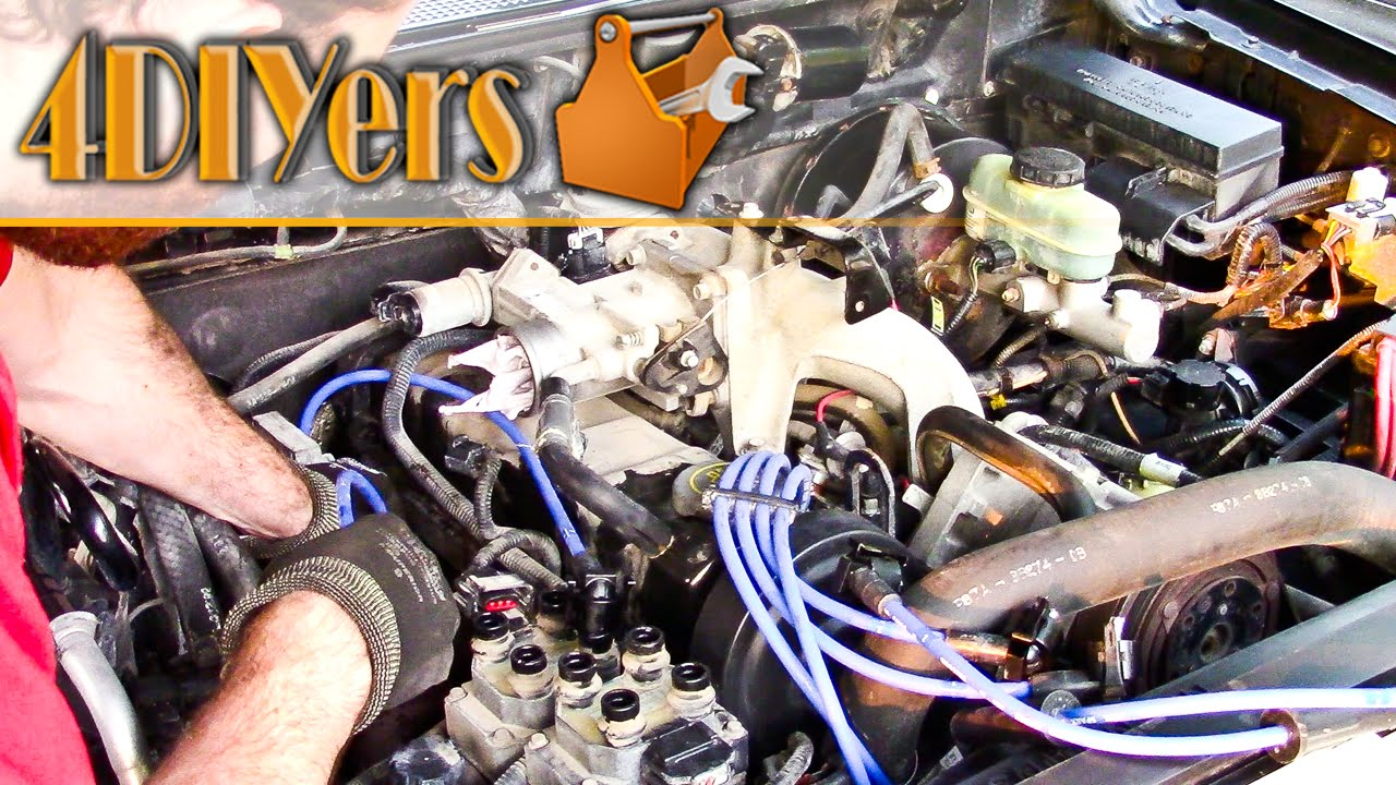 1998 Ford Ranger Alternator Wiring Diagram 1996 E350 Diy 2 5l 4cyl Spark Plug And Wire Replacement Youtube