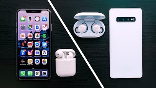 Samsung Galaxy - Samsung Galaxy Buds Review | هل تستبدل سماعات ابل AirPods ?!