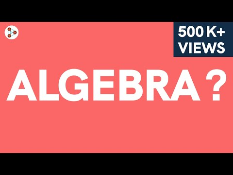 What is the algebraic expression meaning in hindi