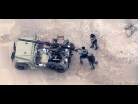Türkei empört: Hier sollen YPG-Kämpfer in Syrien eine Kanone abfeuern