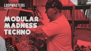 Modular Madness Techno by Loopmasters | Modular Techno Loops Samples Sounds