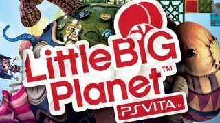 CGRundertow LITTLE BIG PLANET for PlayStation Vita Video Game Review