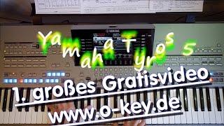 Keyboard spielen lernen für Anfänger mit dem 1. gratis Lernvideo Tonklang 1 bei O-KEY.de