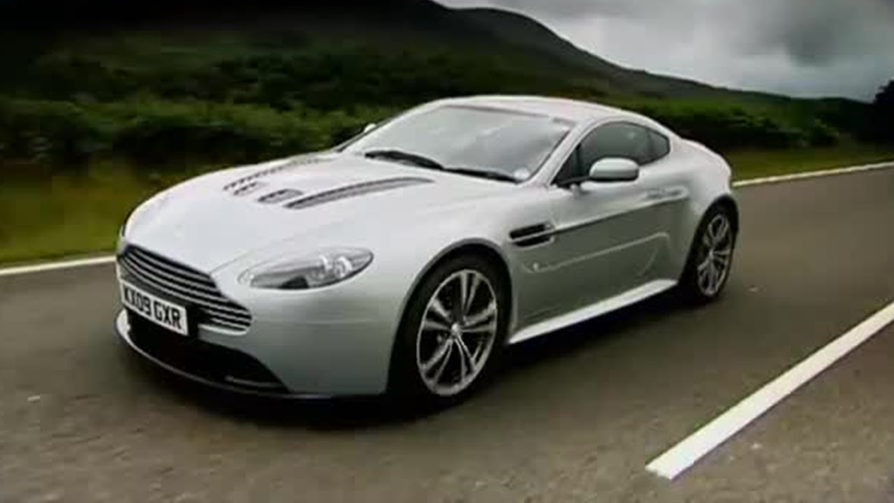 Aston Martin Vantage Top Gear BBC YouTube - Aston martin vantage v12
