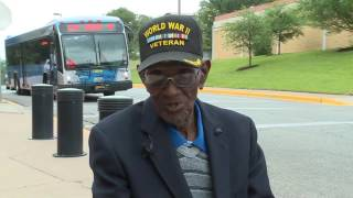 Oldest WWII vet, Austinite Richard Overton celebrates 111th birthday