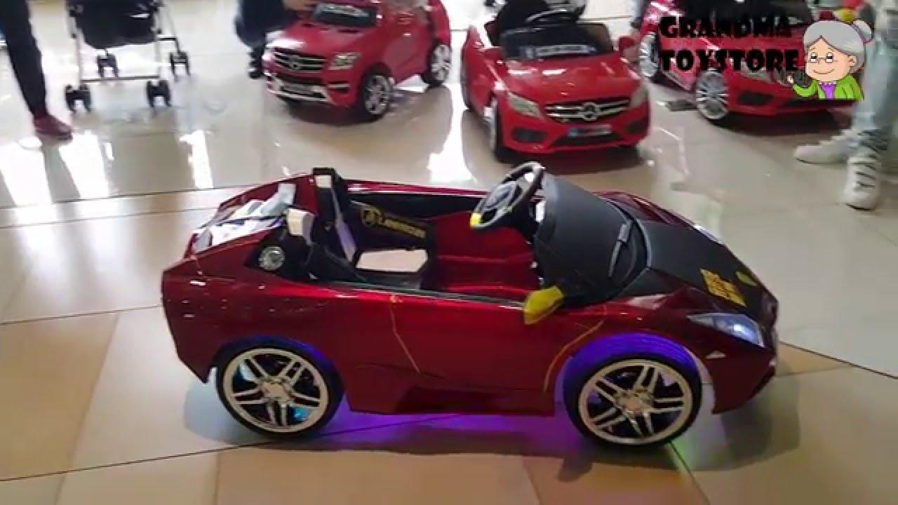 Unboxing Toys Review Demos Fast Furious Big Lamborghini Remote
