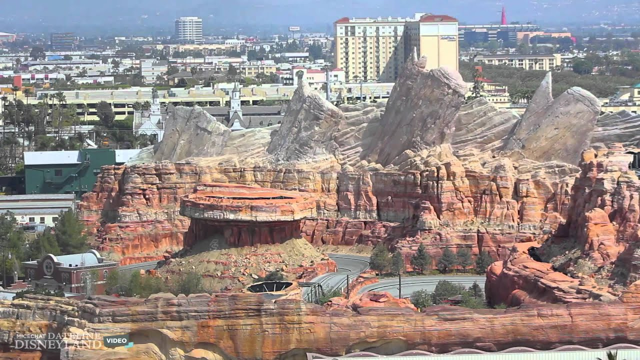 Radiator Springs Racers Testing March 30 2012 Youtube