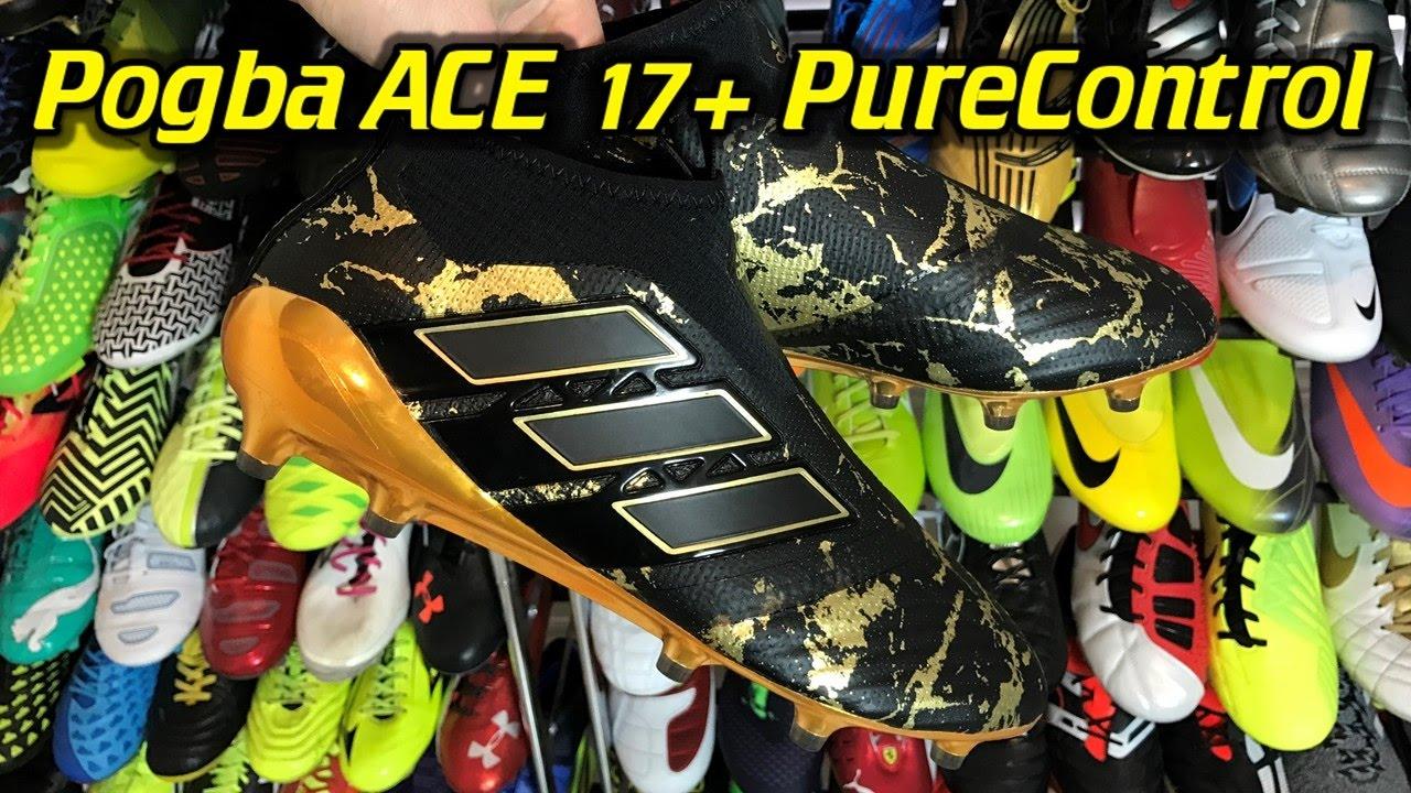 ea20e3c6b232 Paul Pogba Adidas ACE 17+ PureControl - One Take Review + On Feet - YouTube