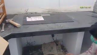 Nhà Cấp 4 Xem Thợ Quê Lắp Bếp Điện Từ Vào Đan Đá Hoa Cương Phòng Bếp (TC)