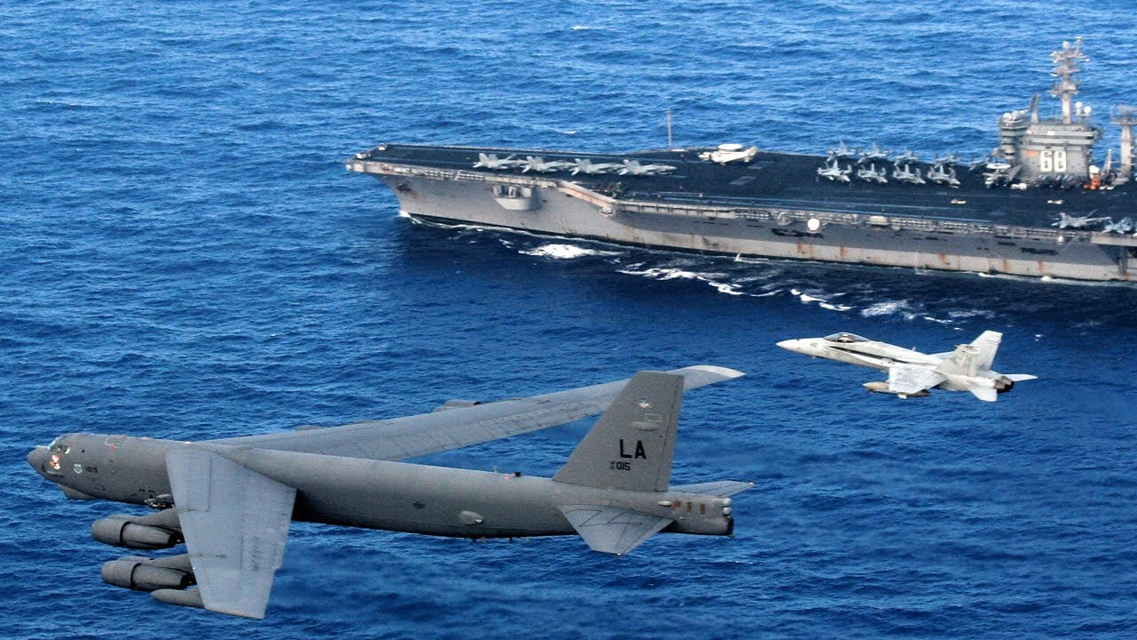 Fight begins (July 08,2020) US Send 70 B-1 B-2 and B-52 Bombers to Joint Exercise in South China Sea