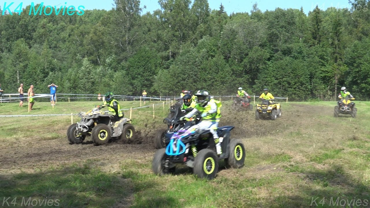 ATV Off-Road Race, mud, water