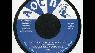 Broomfield Corporate Jam - Does Anybody Really Know