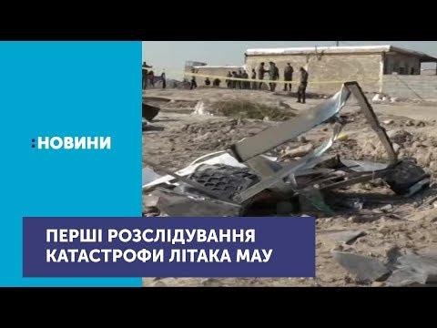 Іранські слідчі оприлюднили перші результати розслідування авіакатастрофи літака МАУ