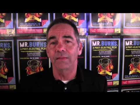 "Hippodrome ""MR BURNS"" Greg Jones Interview"