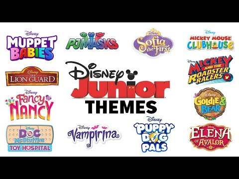 Theme Songs! Compilation | Disney Junior