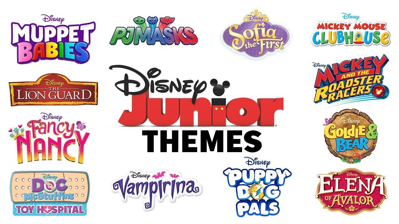 Theme Songs Compilation Disney Junior Youtube