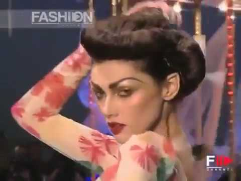 John galliano fashion show spring summer 2008 pret a porter paris 3 of 6 by fashion channel - Watch pret a porter online ...