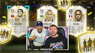 FIFA 21: MID or PRIME ICON PLAYER PICK + 5x 85+ PACK😱🔥 Proownez Dual Stream