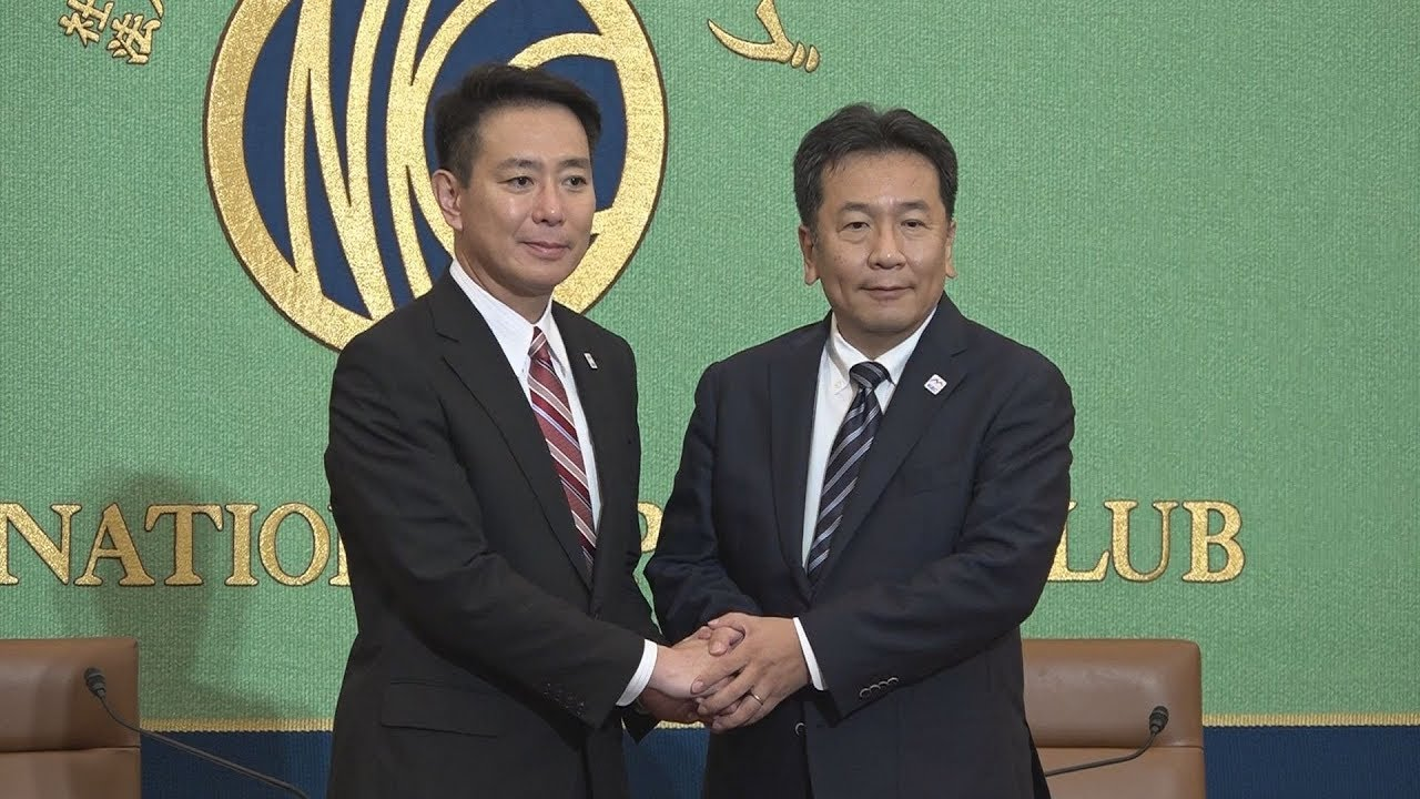 日本記者クラブ主催「民進黨代表選立候補者討論會」 2017年8月22 ...