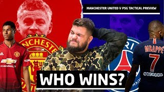 How Manchester United Beat PSG   Tactical Preview, Team News & Press Conference